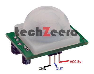 PIR Sensor pinout