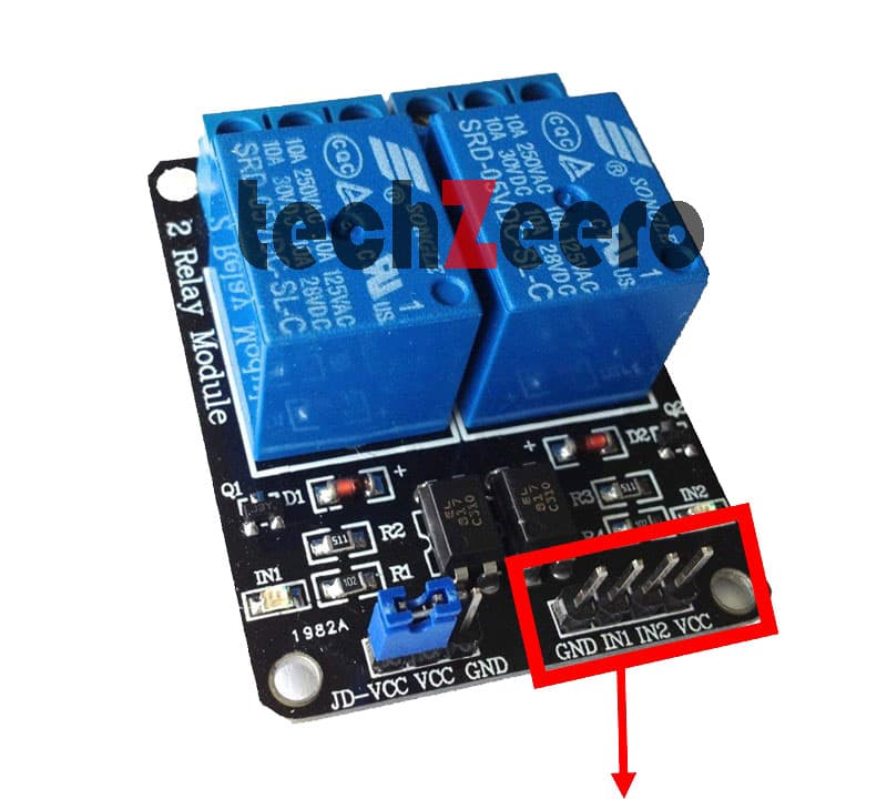 relay module pinout
