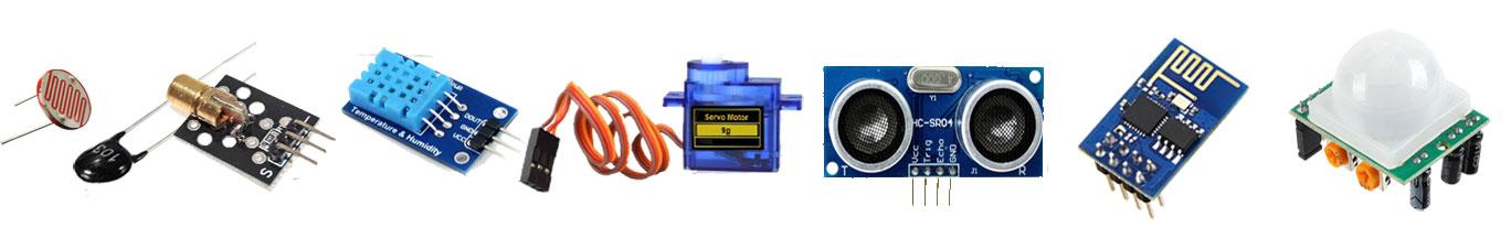 sensors and modules
