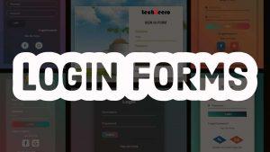 Login Forms