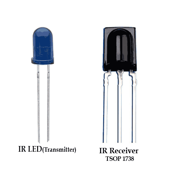 IR Receiver and Transmitter