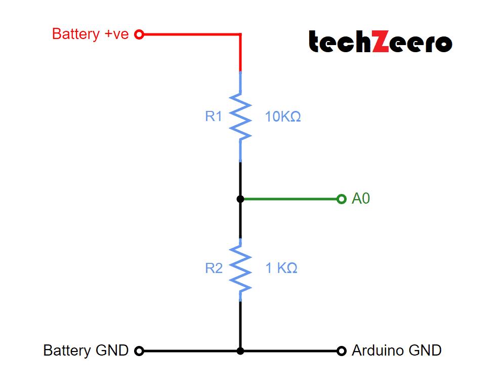 voltage measure meter circuit